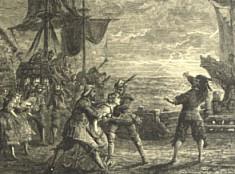 La obra se basa en la conocida historia de un capitán holandés que es condenado a navegar eternamente en un barco fantasmal que provoca la muerte de las personas que lo contemplan.