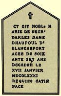 Esto sugiere que dichos errores fueron voluntarios y, que estaban destinadoa a proporcionar una clave para el misterio de Rennes-le-Château. Sauniere, al borrar estas inscripciones, no sabía que ya habían sido copiadas dos veces.