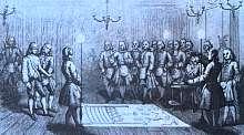 Después de su exilio de Francia, el conde de Saint-Germain fue a la corte de Catalina la Grande de Rusia, donde pronto conquistó una buena posición como diplomático, adoptando el título de «general Welldone». Hacia el final de su carrera pretendía ser un francmasón de alta graduación.