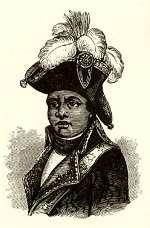 Aunque había nacido esclavo, se convirtió en un general rebelde y expulsó de su país a las fuerzas ocupantes francesas, españolas y británicas. Siguieron años de disturbios y pobreza, durante los cuales floreció el vudú, religión de origen africano que satisfizo las necesidades emocionales de la gente de Haití.